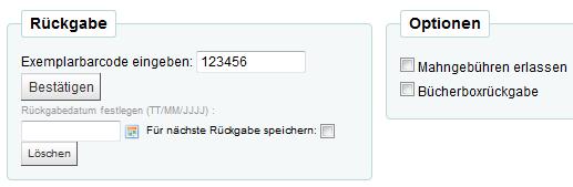 Rückgabe Koha Wiki Der Thulb Jena